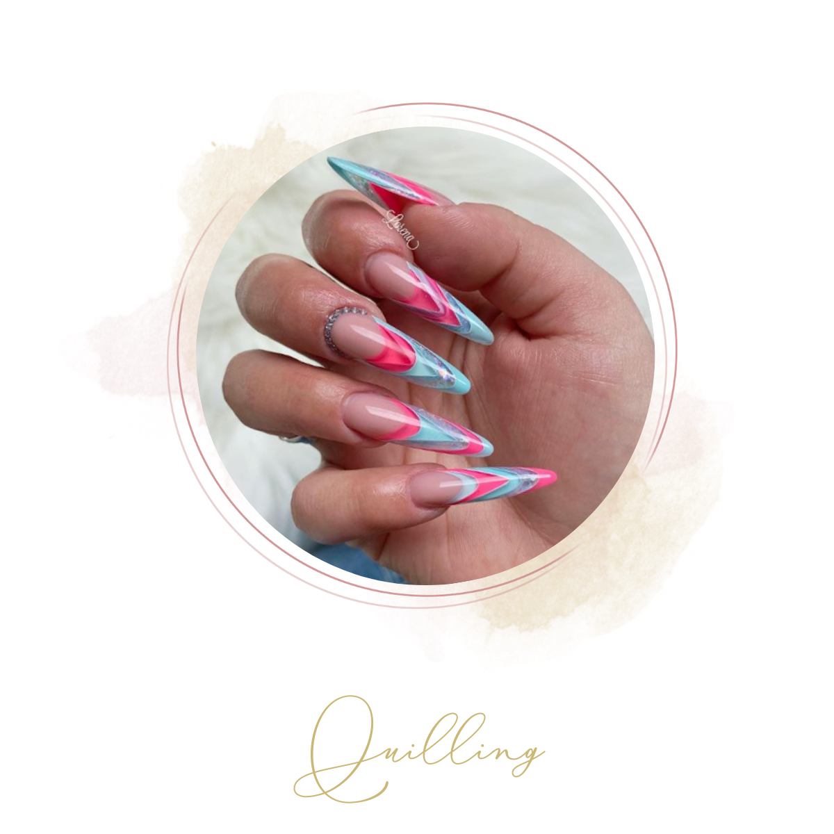 Quilling Nails