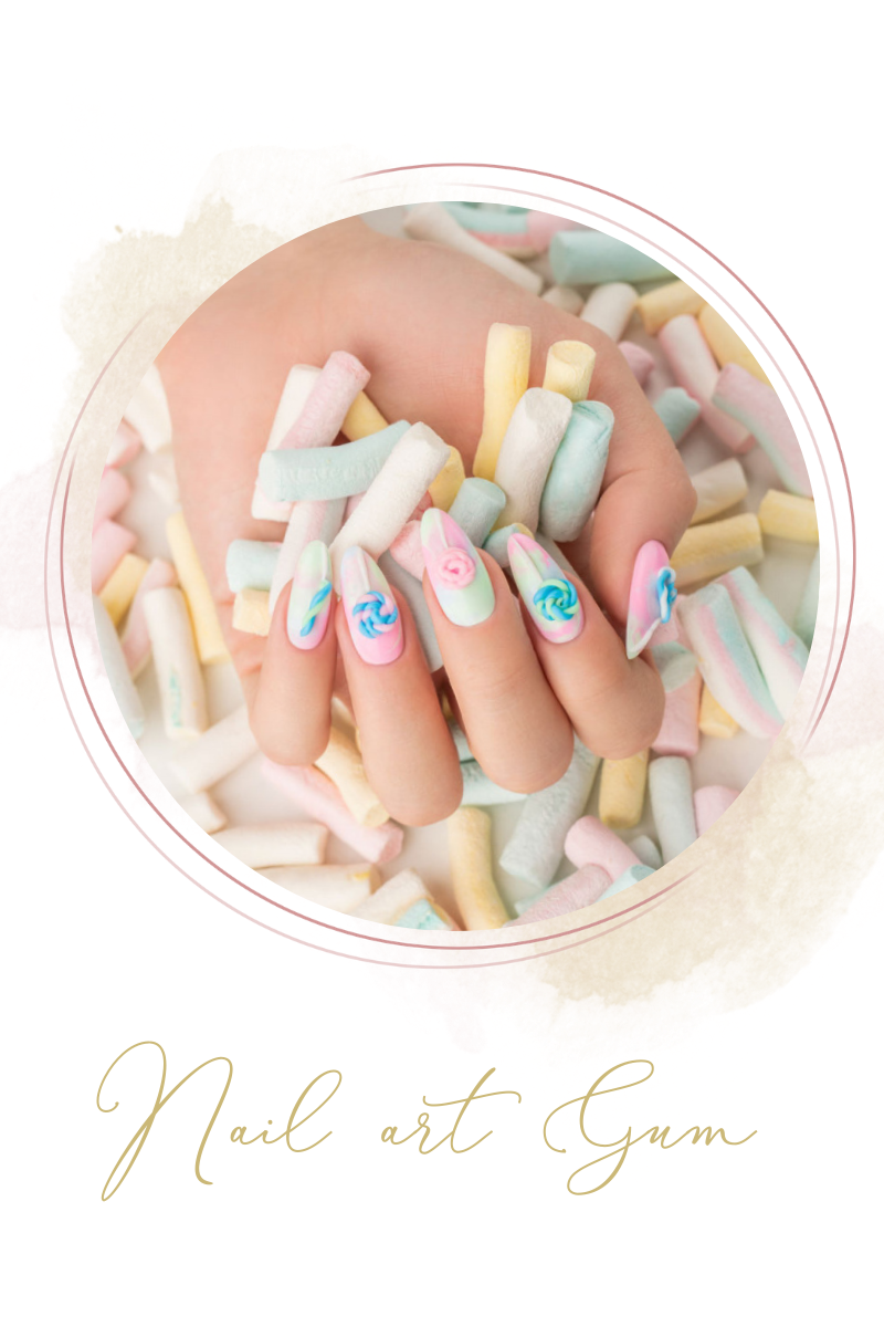 Nail art Gum